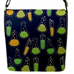 Science Geek Flap Messenger Bag (s)