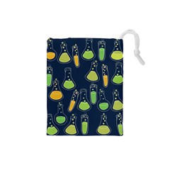 Science Geek Drawstring Pouches (small)