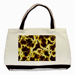 Abstract Pattern Basic Tote Bag