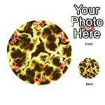 Abstract Pattern Playing Cards 54 (Round)  Front - DiamondJ