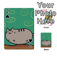 Fat Cat Playing Cards 54 Designs