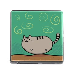 Fat Cat Memory Card Reader (square)