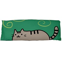 Fat Cat Body Pillow Case Dakimakura (two Sides)
