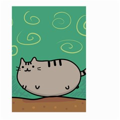 Fat Cat Large Garden Flag (two Sides)