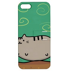 Fat Cat Apple Iphone 5 Hardshell Case With Stand