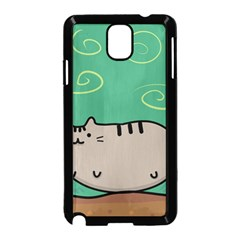 Fat Cat Samsung Galaxy Note 3 Neo Hardshell Case (black)