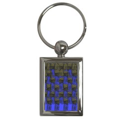 Basket Weave Key Chains (rectangle)