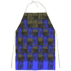 Basket Weave Full Print Aprons