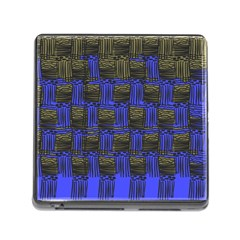 Basket Weave Memory Card Reader (square)