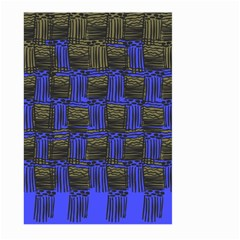 Basket Weave Large Garden Flag (two Sides)