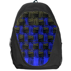Basket Weave Backpack Bag
