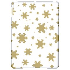 Gold Snow Flakes Snow Flake Pattern Apple iPad Pro 9.7   Hardshell Case