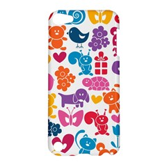 Digital Scrapbook Paper Vintage Backgrounds And Animales Apple Ipod Touch 5 Hardshell Case