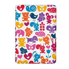 Digital Scrapbook Paper Vintage Backgrounds And Animales Samsung Galaxy Tab 2 (10 1 ) P5100 Hardshell Case