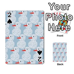 Christmas Wrapping Papers Playing Cards 54 Designs