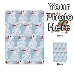 Christmas Wrapping Papers Multi-purpose Cards (Rectangle)