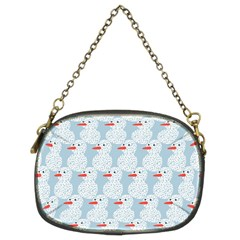 Christmas Wrapping Papers Chain Purses (two Sides)