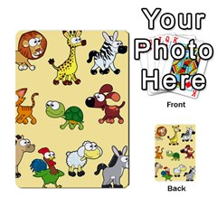 Group Of Animals Graphic Multi Purpose Cards (rectangle)