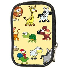 Group Of Animals Graphic Compact Camera Cases