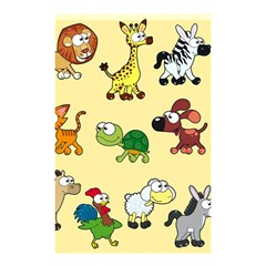 Group Of Animals Graphic Shower Curtain 48  X 72  (small)