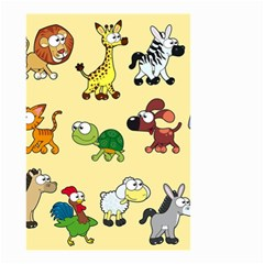 Group Of Animals Graphic Small Garden Flag (two Sides)