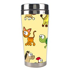 Group Of Animals Graphic Stainless Steel Travel Tumblers