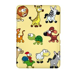 Group Of Animals Graphic Samsung Galaxy Tab 2 (10 1 ) P5100 Hardshell Case