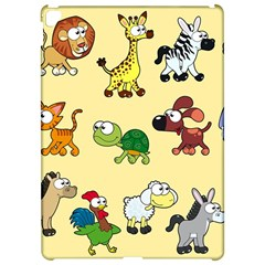 Group Of Animals Graphic Apple iPad Pro 12.9   Hardshell Case