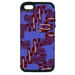 Ikat Sticks Apple Iphone 5 Hardshell Case (pc+silicone)