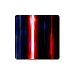 Lights Pattern Square Magnet