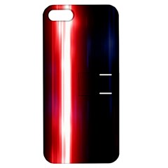 Lights Pattern Apple Iphone 5 Hardshell Case With Stand