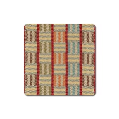 Fabric Pattern Square Magnet