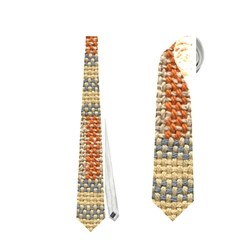 Fabric Pattern Neckties (Two Side)