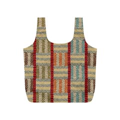 Fabric Pattern Full Print Recycle Bags (s)