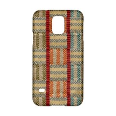 Fabric Pattern Samsung Galaxy S5 Hardshell Case