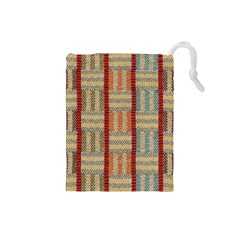 Fabric Pattern Drawstring Pouches (small)