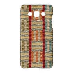 Fabric Pattern Samsung Galaxy A5 Hardshell Case
