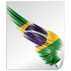 Flag Of Brazil Canvas 8  X 10