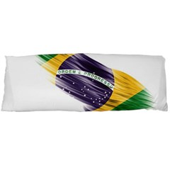 Flag Of Brazil Body Pillow Case Dakimakura (two Sides)
