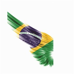 Flag Of Brazil Small Garden Flag (two Sides)