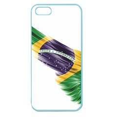Flag Of Brazil Apple Seamless Iphone 5 Case (color)