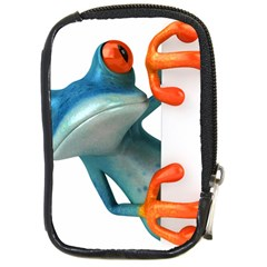 Tree Frog Illustration Compact Camera Cases