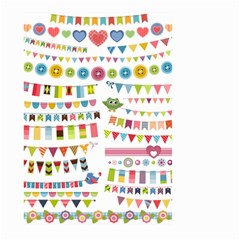 Owl Pattern Large Garden Flag (two Sides)