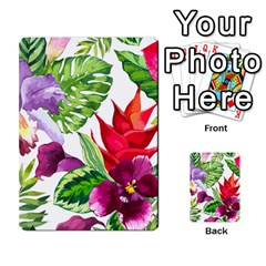 Vector Pattern Tropical Multi Purpose Cards (rectangle)