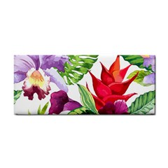 Vector Pattern Tropical Cosmetic Storage Cases