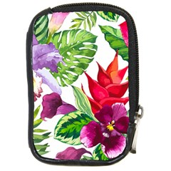Vector Pattern Tropical Compact Camera Cases