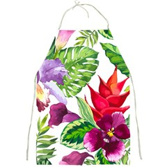 Vector Pattern Tropical Full Print Aprons