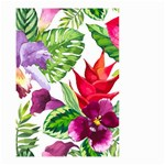 Vector Pattern Tropical Small Garden Flag (Two Sides) Back