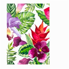 Vector Pattern Tropical Large Garden Flag (two Sides)