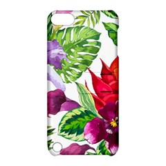 Vector Pattern Tropical Apple Ipod Touch 5 Hardshell Case With Stand